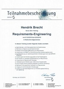 Requirements Engineering in der Praxis - Workshop - Hendrik Brecht