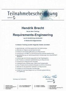 Requirements Engineering in der Praxis - Workshop - Hendrik Brecht