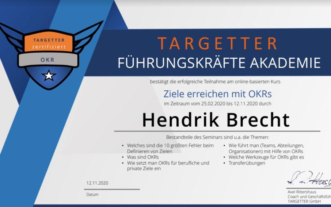 OKR - Hendrik Brecht