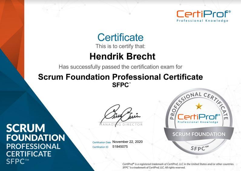 Scrum - Hendrik Brecht